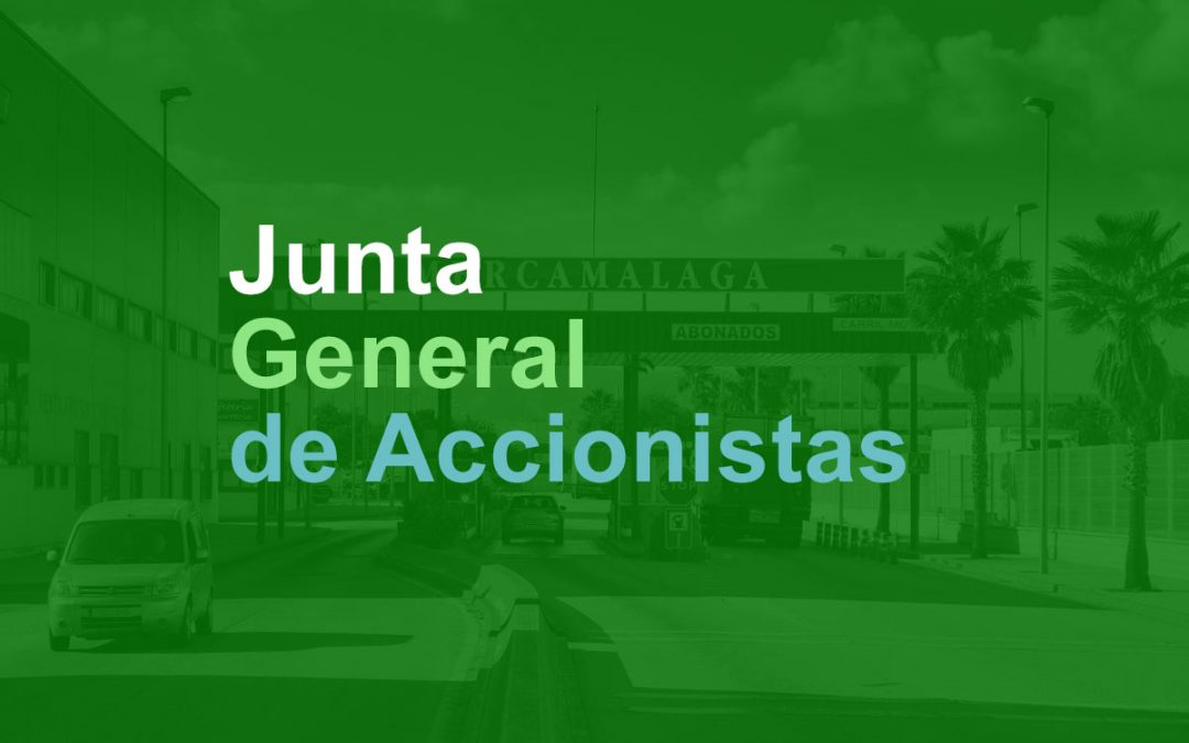 Junta General Extraordinaria de Accionistas – Julio 2019