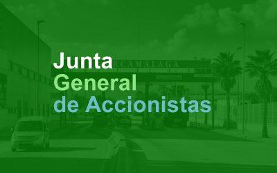 JUNTA GENERAL DE ACCIONISTAS 26 MARZO 2020