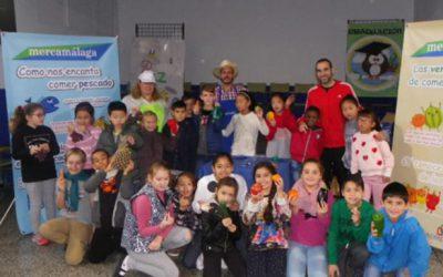 Fomentamos la alimentación saludable con visitas escolares