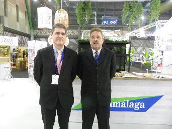 Pedro Machuca de ACMERMA y Jaime Touchard de Mercamálaga