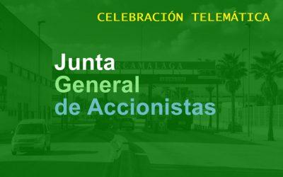 JUNTA GENERAL ACCIONISTAS 24 MARZO 2021
