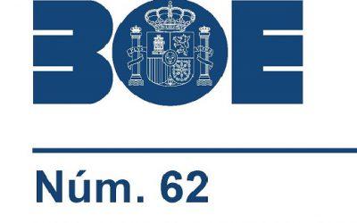 B.O.E. AYUDAS COVID-19   SABADO, 13 DE MARZO